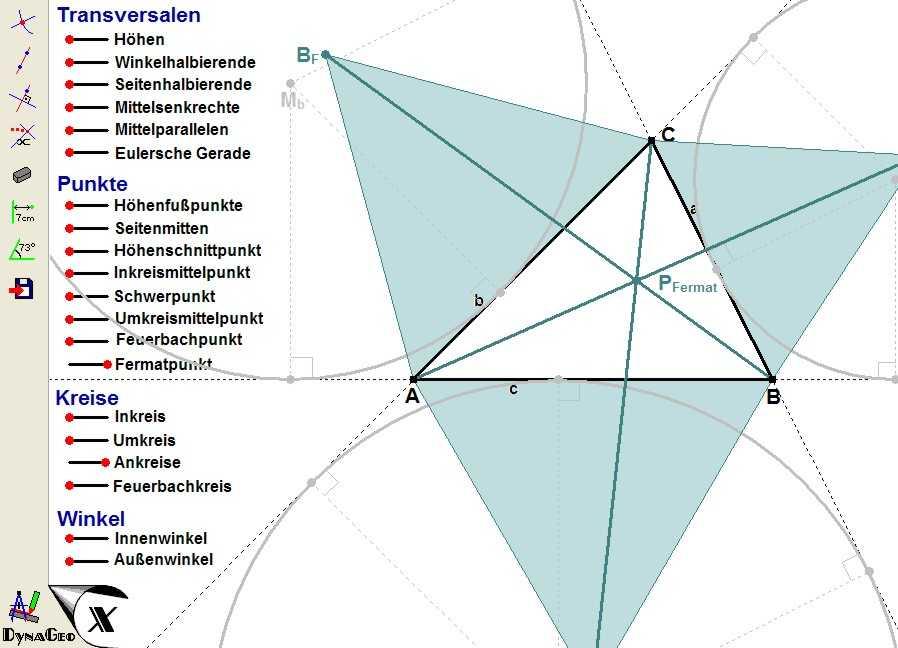 Begriffe am Dreieck